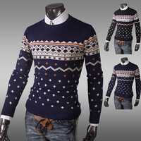 Urban Men Fashion Vintage Style Sweater