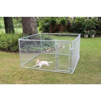 PetSafe, 7.5 ft. x 7.5 ft. x 4 ft. Boxed Kennel, 75754 at The Home Depot - Tablet