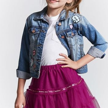 Girls Sheer Mesh Skirt (Kids)