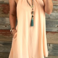 So Sweet Pocket Shift Dress