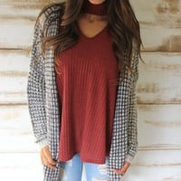 Multi Color Cardigan - Thirty One Boutique