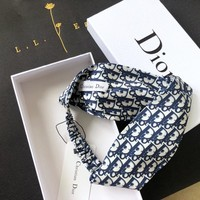 shosouvenir Dior Crossing hairband around the edge Headband