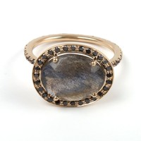 Catbird :: shop by category :: JEWELRY :: Delilah Ring, Labradorite and Black Diamond