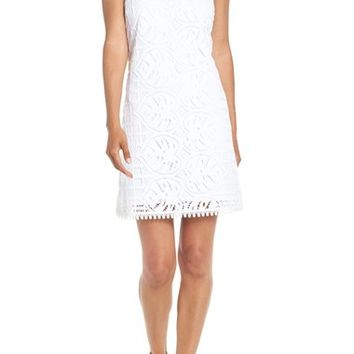 Lilly Pulitzer® 'Mango' Sleeveless Lace Shift Dress | Nordstrom