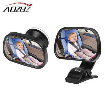Aozbz Car Baby View Mirror Backseat Safety Mirror Wide View Angle Round