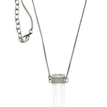 FROM ST XAVIER ZULA NECKLACE - CRYSTAL