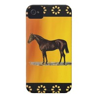Brown Horse iPhone 4 Cover