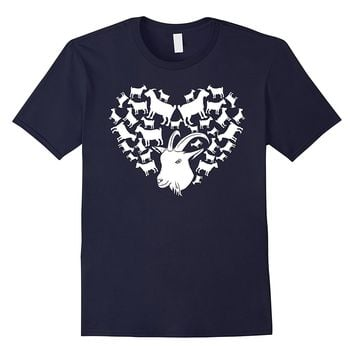 Special Goat Heart T-Shirt Gift