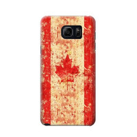 P1603 Canada Flag Old Vintage Phone Case For Samsung Galaxy S6 edge plus