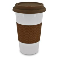Smart Planet EC-7LG 16-Ounce Double Wall Ceramic Cup