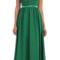 Long Bridesmaids Formal Dress 2018