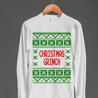 Christmas Grinch Ugly Christmas Sweater Shirt