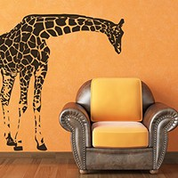 Giraffe Wall Decals Animals Vinyl Sticker Living Room Decor Baby Kids Wall Decor Home Decor Vinyl Nursery Bedroom Decor C548