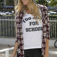 Too Cool Graphic Tee