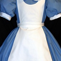 ALICE In WONDERLAND Costume New Pinafore CUSTOM