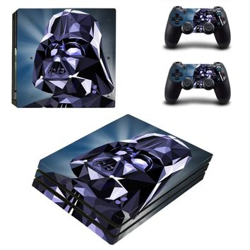 PS4 Pro Star Wars Skin Sticker Cover For Sony Playstation 4 Pro Console&Controllers