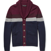 Rag & bone Striped Wool-Blend Cardigan | MR PORTER