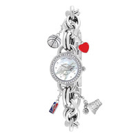 Los Angeles Lakers NBA Women's Charm Series Watch