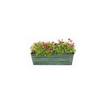Achla Galvanized Tin Square Window Box Planter