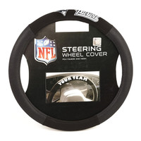 New England Patriots NFL Mesh Steering Wheel Cover