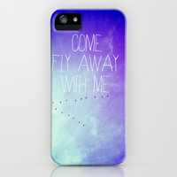 fly away with me iPhone & iPod Case by Deb Schmill