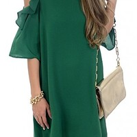 Mckell Dress, Kelly Green :: NEW ARRIVALS :: The Blue Door Boutique