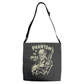 phantom of the opera Adjustable Strap Totes