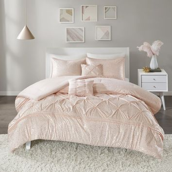 Myron Metallic Comforter Set
