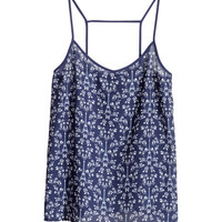 Woven Tank Top - from H&M
