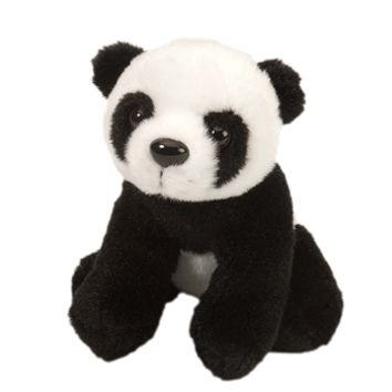 Stuffed Panda 5 Inch Itsy Bitsy Plush Bear by Wild Republic
