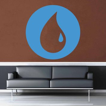 Island - Blue - MTG Mana Circle - Gamer Décor - Wall Decal$8.95