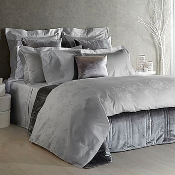 Frette At Home Giardino D'Inverno Duvet Cover in Grey