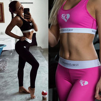 Yoga Sports Gym Pants T-shirts [10853595535]
