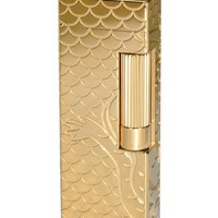 Dunhill Rollagas Dragon Gold Plated Lighter
