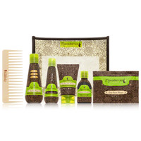 Macadamia Natural Oil Luxe Travel Bag at DermStore
