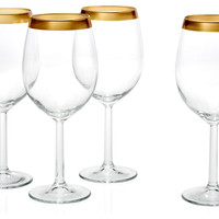 Villa Maria White-Wine Glasses, Set of 4, Wine Glasses