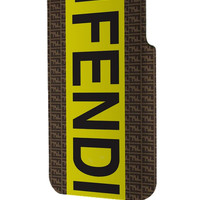 Best 3D Full Wrap Phone Case - Hard (PC) Cover with fendi logo Design