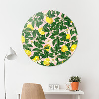 «Lemonade», Limited Edition Disk Print by Uma Gokhale - From $99 - Curioos