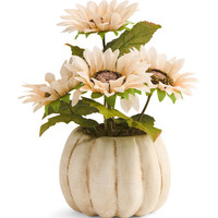 Faux Sunflowers In Pumpkin Pot - Harvest - T.J.Maxx