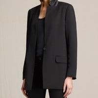 ALLSAINTS UK: Womens Ilia Eryn Blazer (Black)