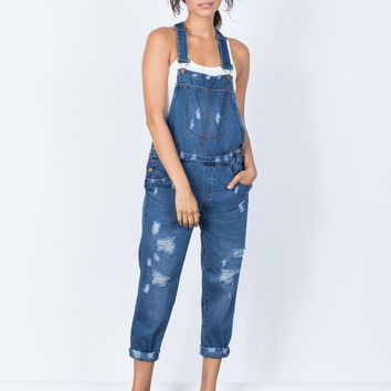 Totally Destroyed Overalls