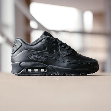 AUGUAU Nike Air Max 90 Leather 302519-001