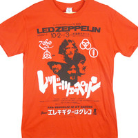 Led zeppelin - japanese promo poster   T-Shirt