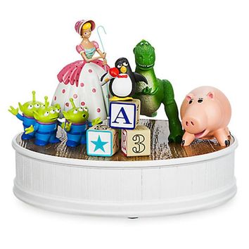 Disney Toy Story Friends Rex Bo Peep Wheezy Hamm Aliens LGM Figurine Statue New