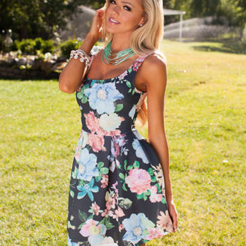 What a Beauty Floral Dress