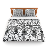 """Catherine Holcombe """"Blanket of Confusion"""" King Fleece Duvet Cover - Outlet Item"""