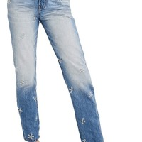 Madewell Perfect Summer Embroidered High Waist Jeans (Wendell Wash) | Nordstrom