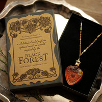 The Queen of Hearts - A Black Forest Perfume Amulet