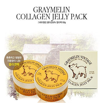 COLLAGEN 50% JELLY PACK, Korean cosmetics, Korean beauty, Kpop style