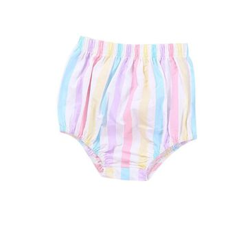 children's shorts Newborn girls trousers diapers shorts for babies girls underpants baby clothes Harem Pants Bloomers Pattern